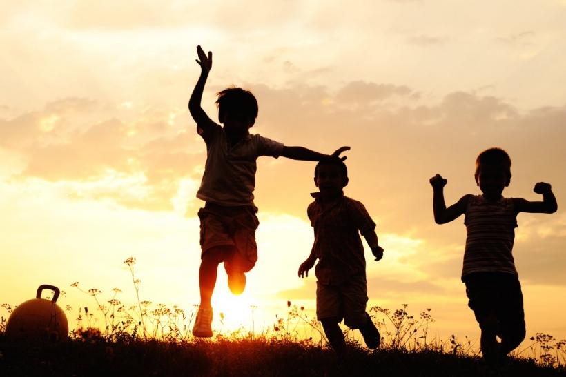 The beauty of being around children