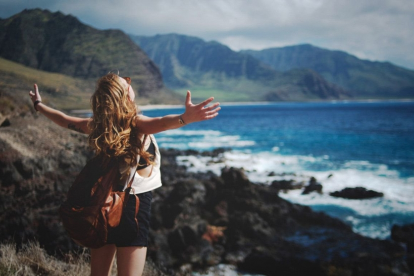 The healthiest addiction is traveling